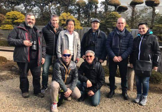 Feb 2018 - In visita a giardino del maestro M.Kimura