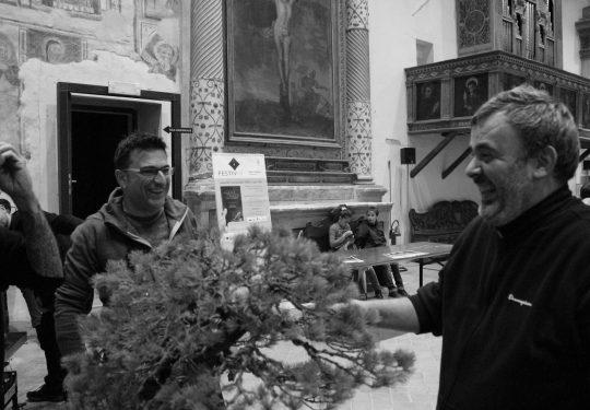 Al congresso IBS 2009 a Trevi con Giacomo Bellini e Andrea Matteucci.